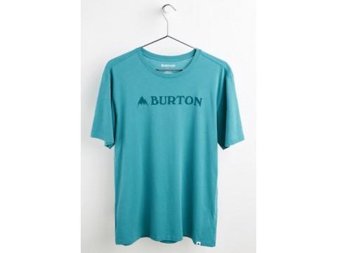 BURTON-HORIZONTAL MTN SS W22 - тениска-BRITTANY BLUE